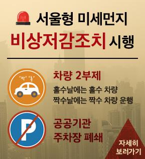 서울형 미세먼지 비상저감조치